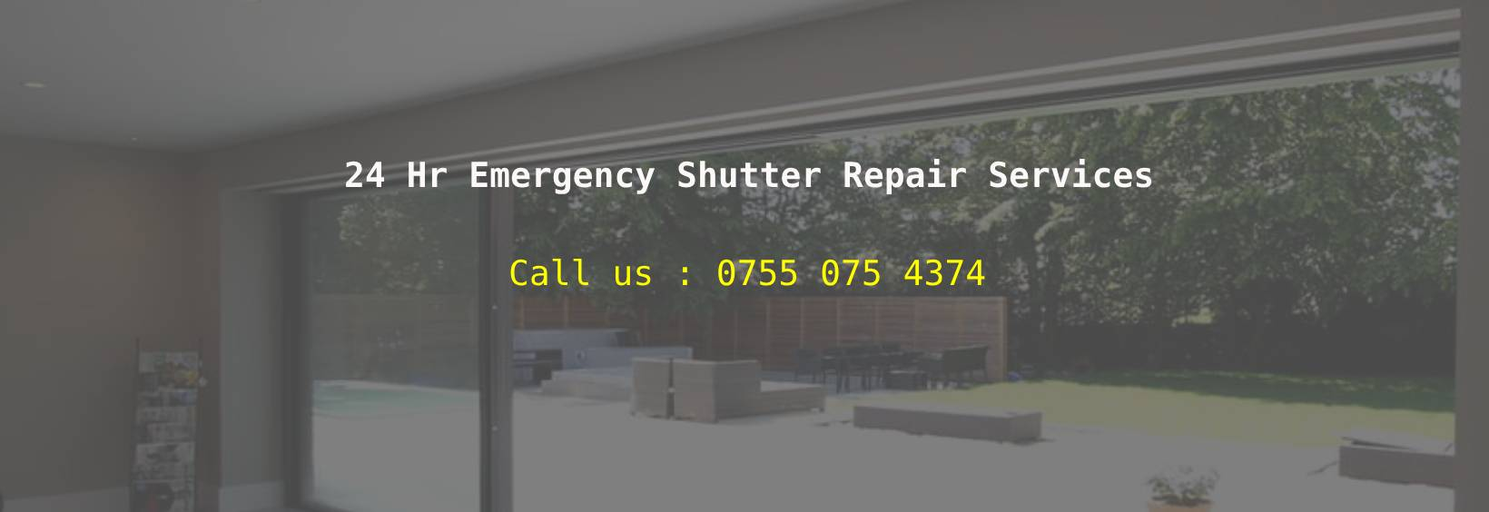 Shopfront and Shutter Repair in London